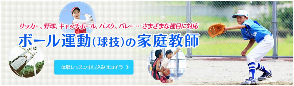 スポーツ家庭教師ファースト 野球広島エリア